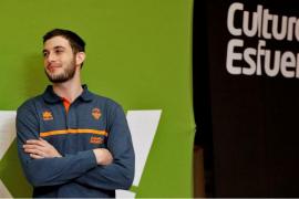 Sergi García, listo para debutar con el Valencia Basket