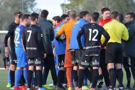 Una pelea entre jugadores obliga a suspender un amistoso del Atlético Baleares