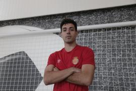 Álvaro Bustos: «Mi objetivo es jugar en Segunda con el Mallorca»