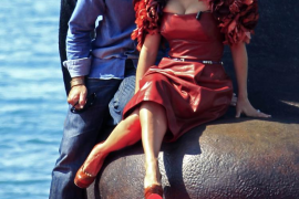 Salma Hayek y Antonio Banderas «se ponen las botas» en Cannes
