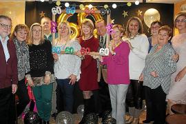 Fiesta de cumpleaños sorpresa de Antonia Sánchez
