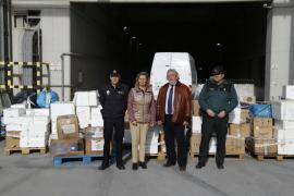 Queman en Son Reus 616 kilos de droga incautados en los últimos años