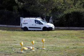 Aparecen destrozadas 62 balizas de señalización en el aeropuerto de Son Sant Joan