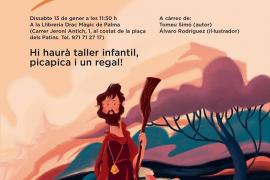 Tomeu Simó presenta 'Sant Antoni som tots', un libro infantil sobre la historia del santo