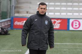 Horacio Melgarejo ve al Atlético Baleares «capacitado» para ganar al Formentera
