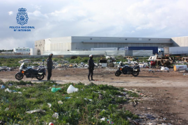 La Policía Nacional desarticula nueve puntos de venta de sustancias estupefacientes en Son Banya