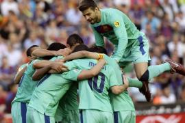 El Barça ya es campeón de Liga