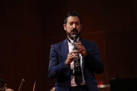 Pascual Martínez en la gala del 125 aniversario de Ultima Hora