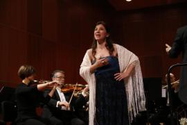 Maia Planas, soprano, en el 125 aniversario de Ultima Hora