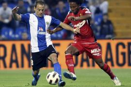 El Mallorca remonta ante el Hércules, que firma su descenso (2-2)