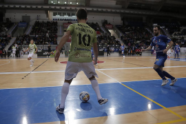 El Palma Futsal y el Peñíscola firman un empate que sabe a muy poco