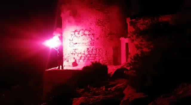 Las torres de Mallorca se iluminan por los Derechos Humanos
