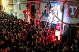 Gran participación en los primeros actos 'santantoniers' de Son Servera