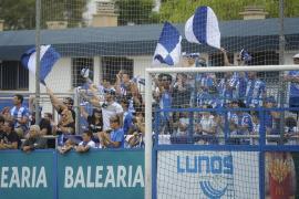 El Atlético Baleares por fin le da una alegría a su afición