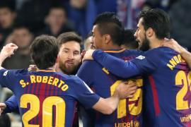El Barça remonta un 2-0 adverso y acaba con el gafe de Anoeta