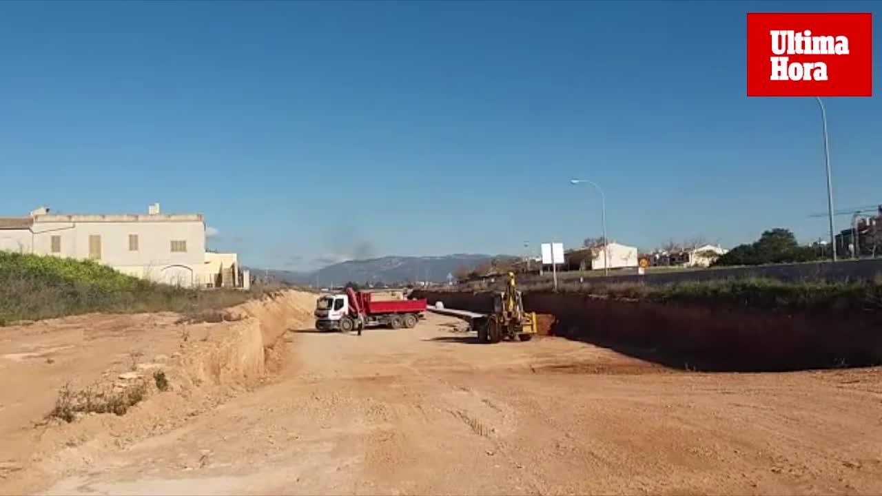 Las obras de la Vía Conectora con la intersección de la carretera de Manacor se realizarán tras el verano