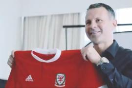 El eterno Ryan Giggs se pone al frente de la selección de Gales