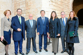 Celebración de la Pascua Militar en el Palau de l'Almudaina