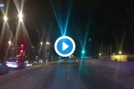 La Policía Local detiene a un conductor en el Paseo Marítimo de Palma por cuadruplicar la tasa de alcoholemia