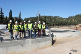 La depuradora de Andratx ampliará su capacidad de producción hasta 5.000 m3 diarios, tras su ampliación