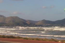 Mallorca estará este miércoles en riesgo por el fuerte viento