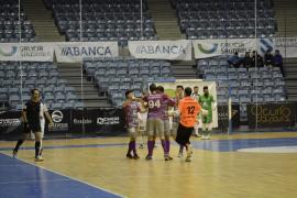 Goleada del Palma Futsal en el Fontes do Sar