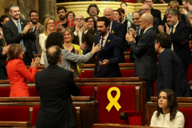 Roger Torrent es escogido presidente del Parlament de Cataluña