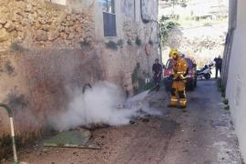 Arde un nuevo contenedor en Génova