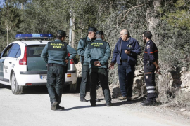 Búsqueda de un vecino de Sant Antoni dado por desaparecido (Fotos: Arguiñe Escandón).