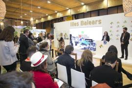 Antoni Noguera promociona los productos gastronómicos de Palma en Fitur