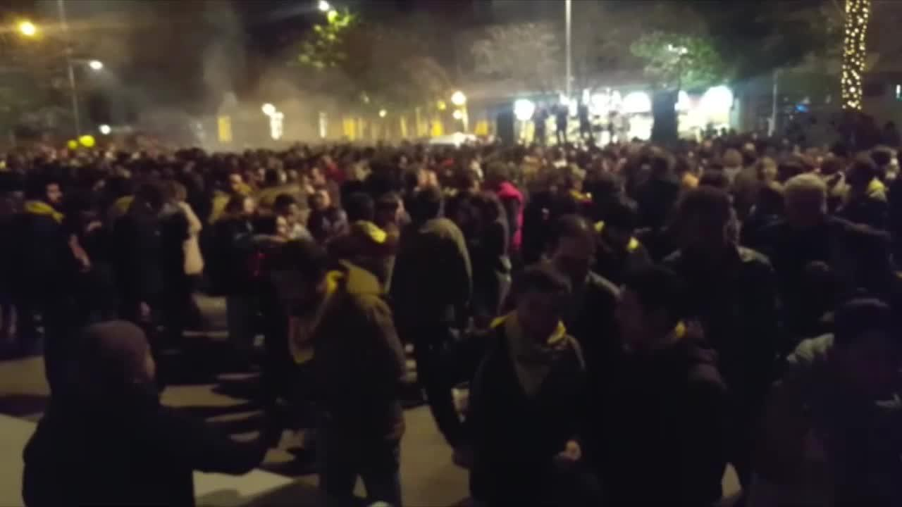 Palma celebra su noche de 'llonguetades'