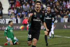 Un gol de Asensio da la victoria al Real Madrid ante el Leganés