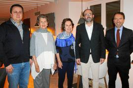 Cena y diplomas para los patronos fundadores de la Fundació Amazonia en Palma
