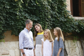 Felipe VI impondrá, en su 50 cumpleaños, el Toisón a la Princesa Leonor