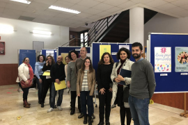 Alumnos de la UIB participan en una campaña de sensibilización hacia las enfermedades raras