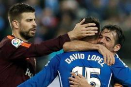 LaLiga denuncia insultos a Piqué y al Barça en Copa contra el Espanyol