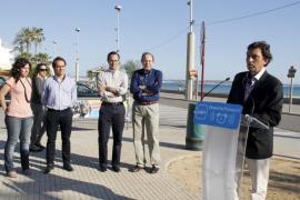 Isern propone construir nuevas instalaciones deportivas  en Playa de Palma para celebrar torneos internacionales