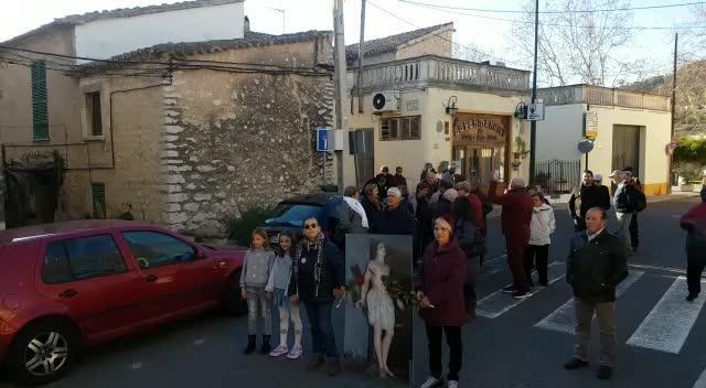 Es Capdellà celebra los 100 años de la procesión de Sant Sebastià sin la talla del santo