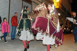Pollença celebra Sant Sebastià con la procesión del Estendard y los Cavallets