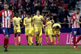 El Atlético no puede con el Girona en el Wanda y dice adiós a la Liga