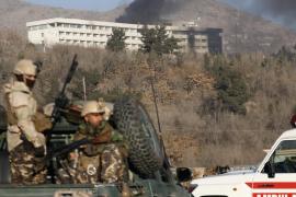 Al menos doce muertos en un ataque a un lujoso hotel de Kabul