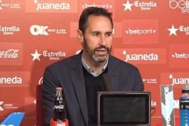 Vicente Moreno: «El resultado es más que justo»