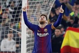 El Barcelona golea al Betis tras desatarse en la segunda parte