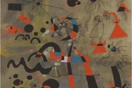 Constel·lacions,  obra gráfica de Joan Miró, en Sóller