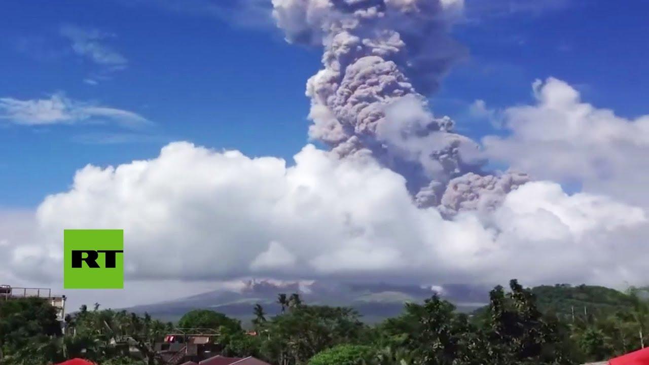Elevan la alerta del volcán filipino Mayon ante la amenaza de una erupción mayor