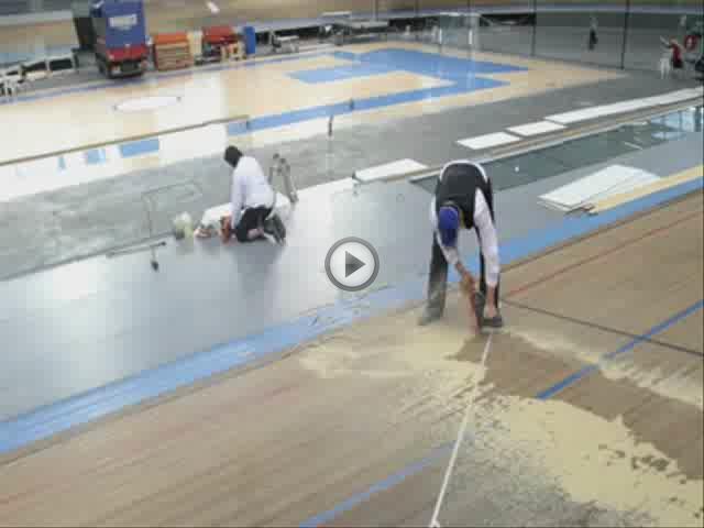 Comienza la instalación de una nueva pista en el Palma Arena