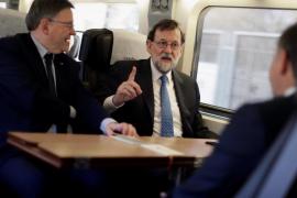 Fiasco en la inauguración de la lína del AVE entre Valencia y Castellón con Rajoy a bordo