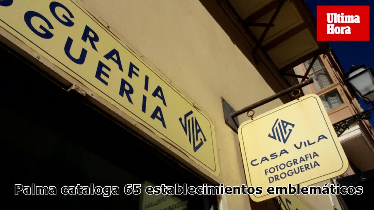 El Ayuntamiento de Palma cataloga 65 establecimientos emblemáticos que este 2018 tendrán una rebaja del IBI