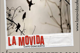 Lalo Garau presenta 'Decisiones Insensatas' en La Movida