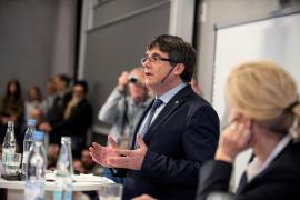 Puigdemont apuesta en Copenhague por «acabar con la represión y buscar una solución política»